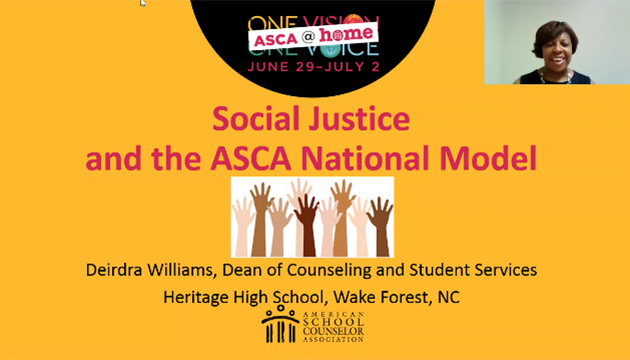 ASCA@Home Session: Social Justice and School Couns...
