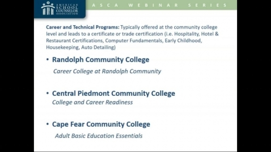 Postsecondary Options for Students With Disabilities