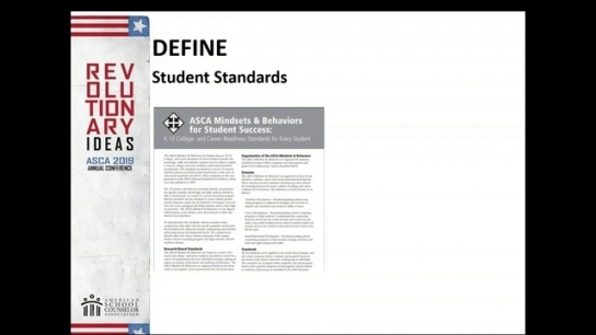ASCA National Model Fourth Edition Changes: Define