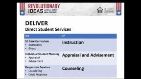 ASCA National Model Fourth Edition Changes: Deliver