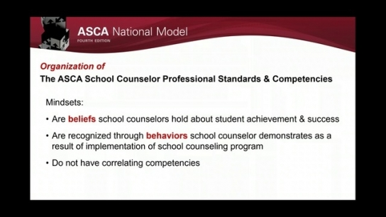 ASCA National Model, 4th Edition: Define
