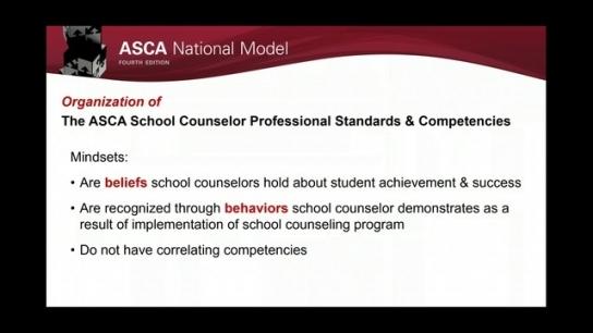ASCA National Model, 4th Edition: Define