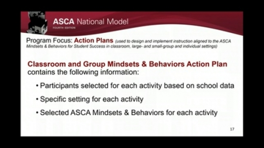 ASCA National Model, 4th Edition: Manage