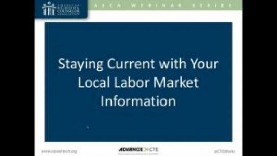 Use Labor Market Information in Career Advising