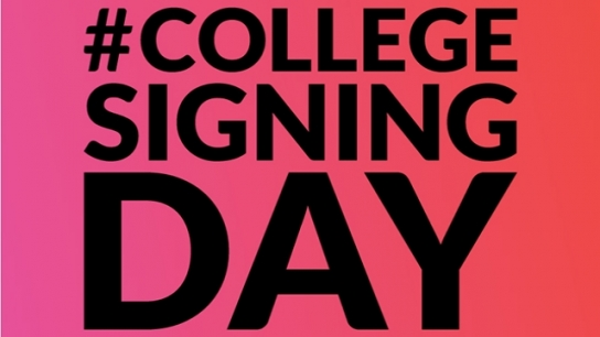 Celebrate College Signing Day Online