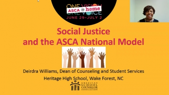 ASCA@Home Session: Social Justice and School Counseling