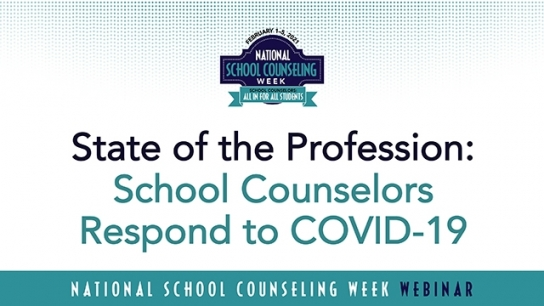 School Counselors Respond to COVID-19