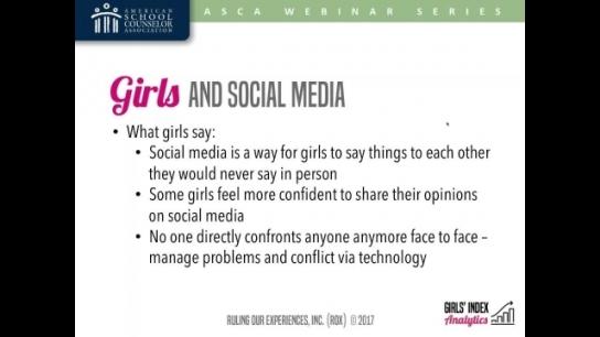 Selfies, Snaps, Sexts, & Self-Esteem: Girls and Social Media