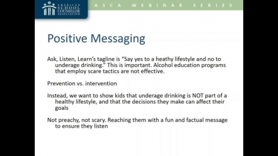 Integrate Alcohol Education in Your Program