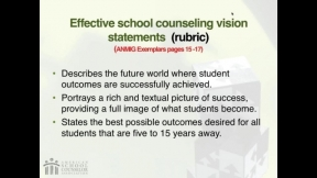 RAMP Scoring Rubric Webinar: Section 1- Vision Statement