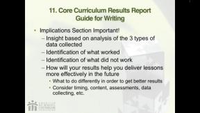 RAMP Scoring Rubric Webinar: Section 9 - School...