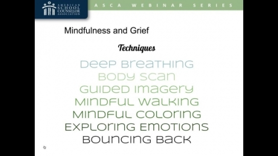 Use Mindfulness to Help Grieving Students