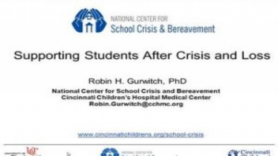 Supporting Students After Crisis and Loss