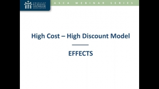 High-Cost/High-Discount Model of Higher Education