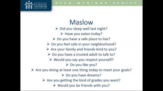ASCA Mindsets-Based Mini Lessons